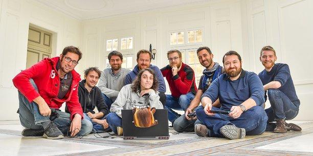 L'équipe de Motion Twin en novembre 2018.