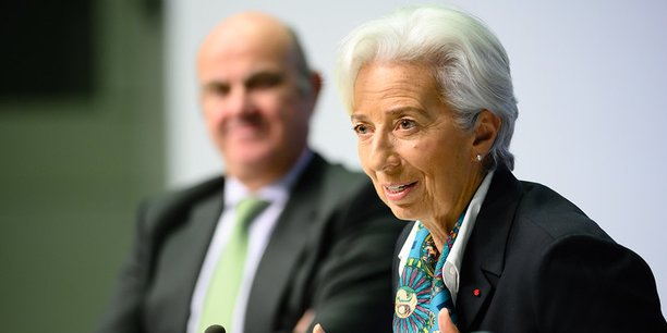 Christine Lagarde, jeudi 12 décembre 2019, au siège de la BCE à Francfort.