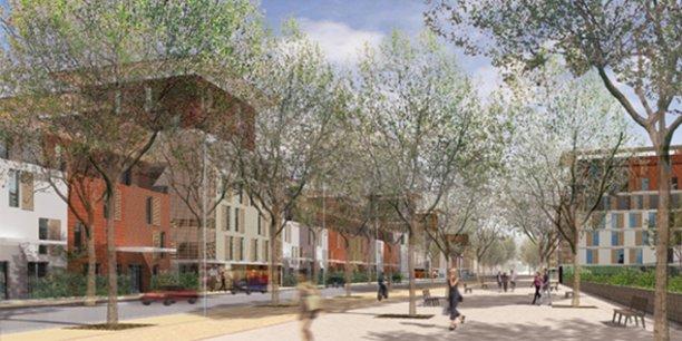 La ZAC de la Restanque, à Montpellier, a été reconfigurée pour intégrer les nouveaux enjeux de transition écologique.