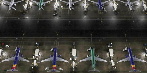 Depuis l'immobilisation du 737 MAX en mars, près de 400 exemplaires ont été construits et stockés