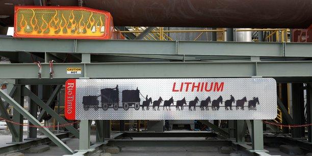 Unité de production de lithium lancée cette année par la compagnie Rio Tinto qui exploite le site minier de Boron en Californie (Etats-Unis).