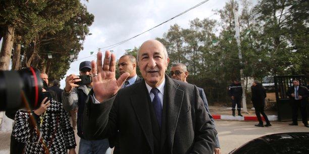 Algerie: abdelmadjid tebboune elu au premier tour de la presidentielle[reuters.com]
