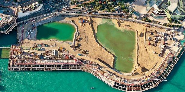 La construction du nouveau quartier monégasque, dont la livraison est prévue en 2025, comporte de nombreux défis techniques.