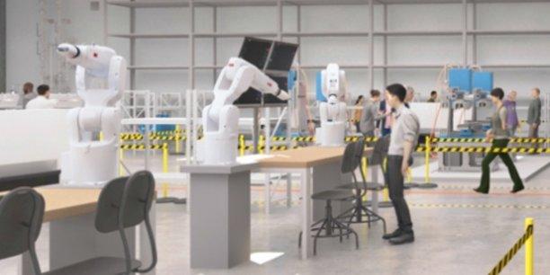 Une image de synthèse du futur centre de formation qui sera implanté à Stains