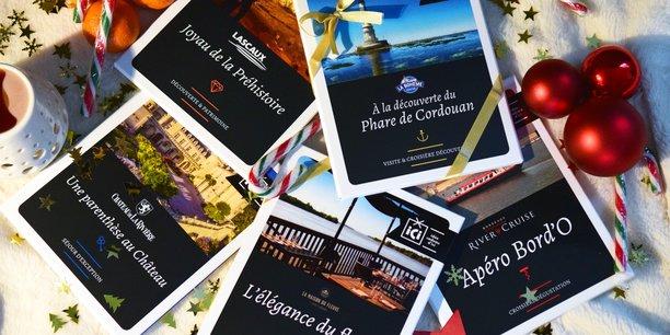 Les grottes de Lascaux et le phare de Cordouan figurent parmi les destinations vendues par Idée Cadeau d'ici