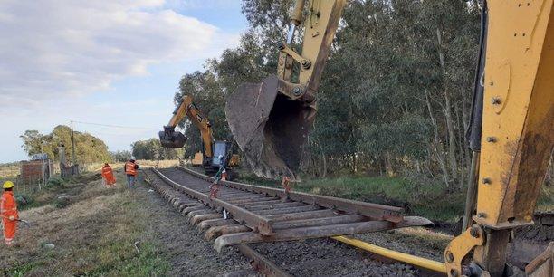 Le chantier ferroviaire en Uruguay, d'un montant de 1,1 Md$, représente l'entrée de l'ETI dans le Mercosur