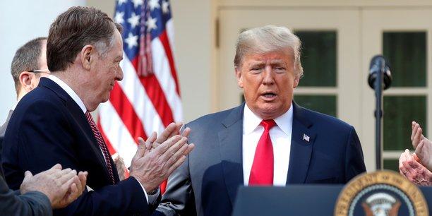 Donald Trump, qui avait qualifié l'Aléna de pire accord commercial de l'histoire des États-Unis en raison des destructions d'emplois qu'il a entraînées, avait imposé sa renégociation en août 2017.