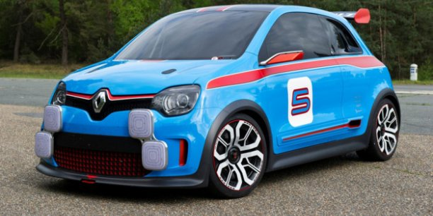 Concept Renault Twin'Run de future Twingo III.