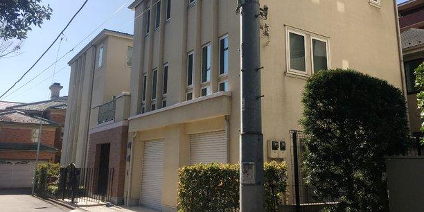 La maison dans laquelle Carlos Ghosn résidait à Tokyo avant de fuir pour le Liban.