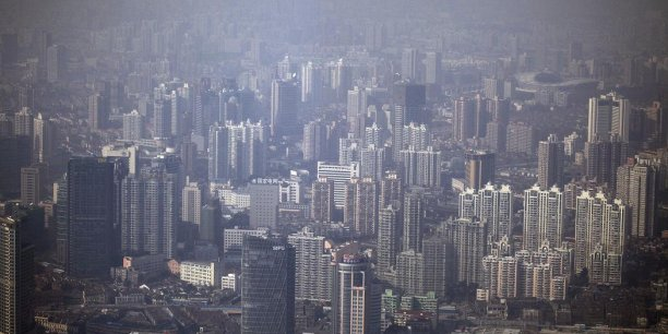 Le centre-ville de Shanghai (Photo Reuters)