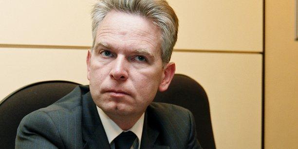 Photo d'archive (2010). Luc Lallemand, 53 ans, doit succéder à la tête de SNCF Réseau à Patrick Jeantet, qui lui-même doit prendre la direction du groupe de transports publics Keolis (filiale à 70% de la SNCF).