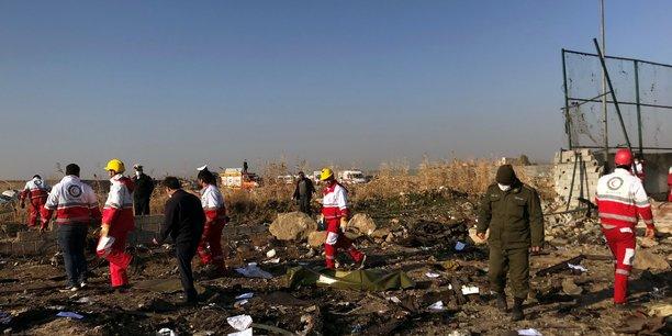 Téhéran avait jusqu'à alors nié que le Boeing 737-800 de la compagnie ukrainienne ait été frappé par un missile iranien, comme l'affirmaient le Canada et les Etats-Unis.