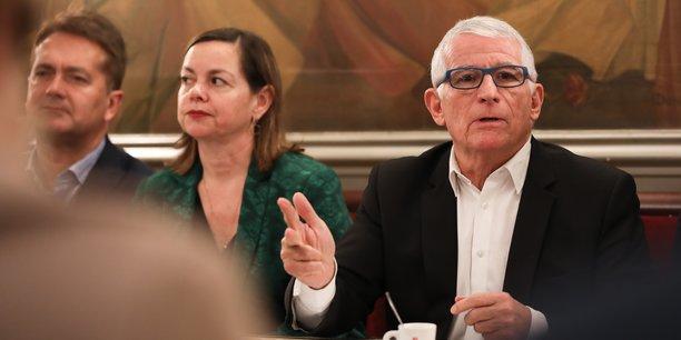 L'ancien maire de Toulouse, Pierre Cohen, se présente en candidat Pour La Cohésion, aux prochaines élections municipales.