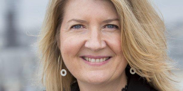 Caroline Lehericey, directrice générale France d'Hello bank!.