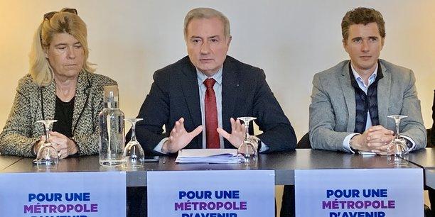 La majorité métropolitaine sortante, avec comme chef de file Jean-Luc Moudenc, a présenté son projet pour 2020-2026.