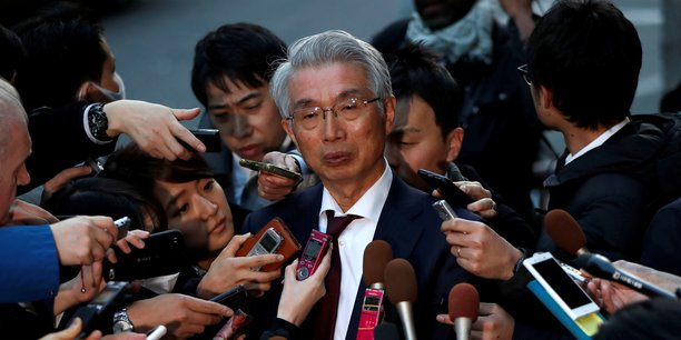 Junichiro Hironaka (en photo) s'était dit abasourdi par la fuite de Carlos Ghosn fin décembre.