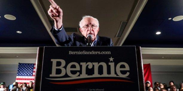 Usa 2020: sanders au coude-a-coude avec biden en vue de la primaire democrate[reuters.com]