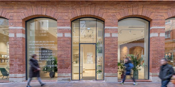 Le concept store est situé en plein centre de Toulouse, au 5 rue Saint-Pantaléon
