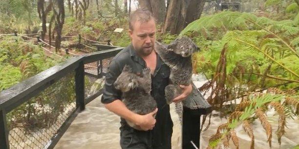 Australie: une tempete provoque des inondations, des feux toujours actifs[reuters.com]