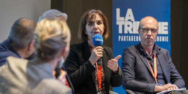 Emmanuelle Soubeyran lors de la conférence Santé publique vétérinaire : Tous concernés !