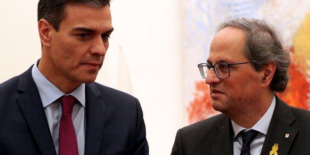 Pedro sanchez annonce qu'il va rencontrer le catalan qim torra[reuters.com]