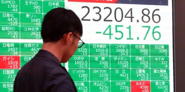 La bourse de tokyo termine en nette baisse[reuters.com]