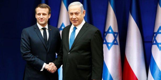La france intraitable sur le nucleaire iranien, dit macron en israel[reuters.com]
