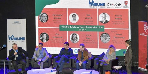 De gauche à droite : Francis Wilsius, Eric Lespinasse, Gaël Lavaud, Christophe Chartier, Vinca Bigo et Pierre Cheminade.