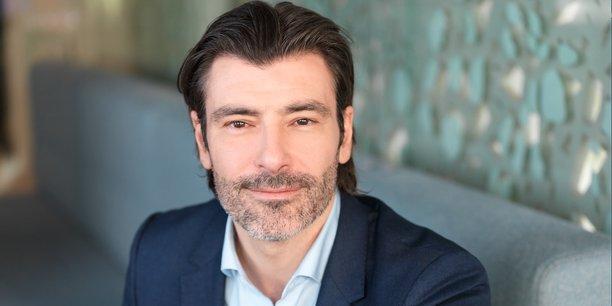 Maximilien Pellegrini, le directeur général délégué France de l'activité eau chez Suez, affiche la volonté avec les entreprises du tissu économique local.