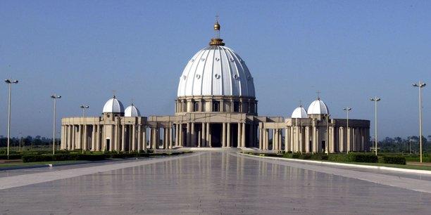 La Basilique de Yamoussoukro.