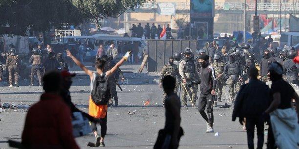 Irak: heurts entre forces de securite et manifestants a bagdad[reuters.com]