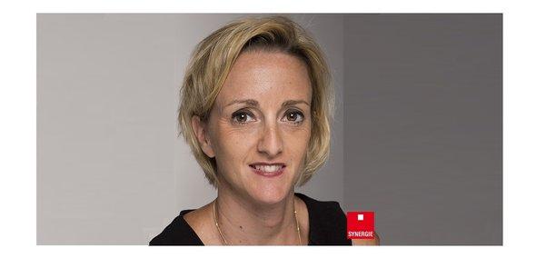 Céline Fortinon, directrice du bureau de Bordeaux du cabinet de recrutement S&You (groupe Synergie).