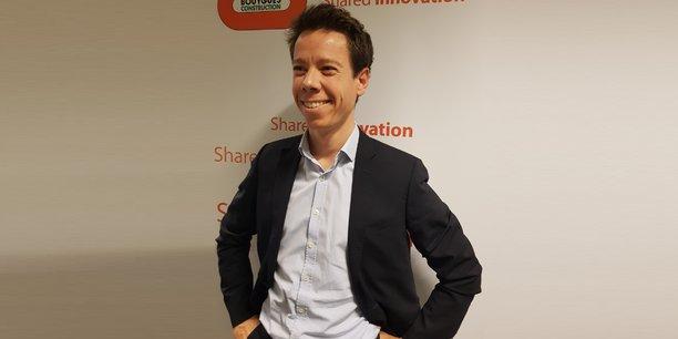 Julien Bourcerie, responsable innovation et construction durable chez Bouygues Construction.