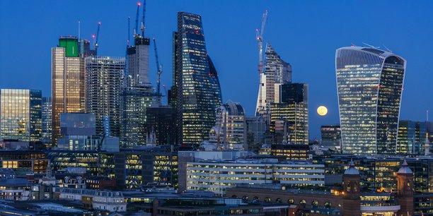 La perte d'emplois, liée au Brexit, observée dans la City a été plus faible qu'initialement craint.