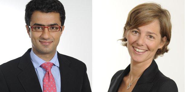 Pierre-Antoine Farha et Aurélie Dantzikian-Frachon
