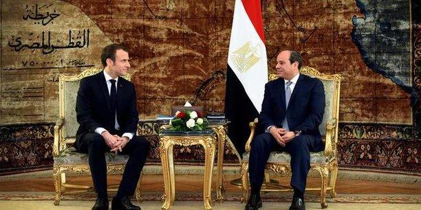 La France s'est fait complètement sortir ou presque du marché de l'armement  égyptien.