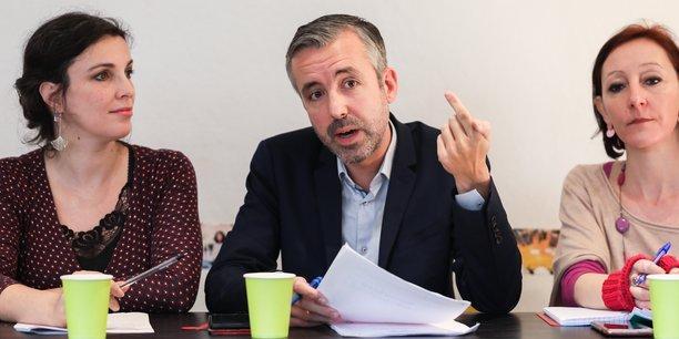 Le candidat d'Archipel Citoyen aux élections municipales, Antoine Maurice (EELV), veut orienter l'économie de Toulouse vers le climat.
