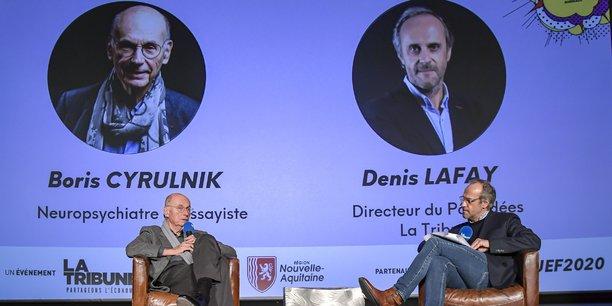 Boris Cyrulnik et Denis Lafay