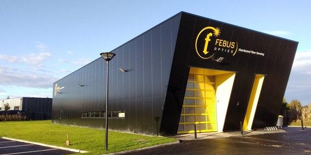 Le centre d'essai de Febus Optics à Pau