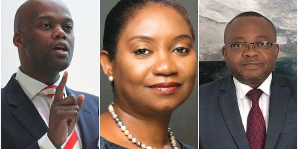 Wankele Mene, Cecilia Akintomide et Faustin Luanga, les trois finalistes pour le poste de secrétaire général de la Zlecaf qui sera désigné ce dimanche 9 février.