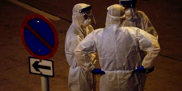contamination,  coronavirus, Hong Kong,[reuters.com]
