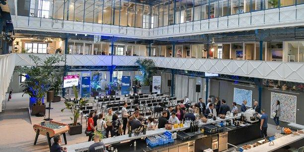 La rencontre de France digitale du 4 février 2020 a eu lieu à la Halle Héméra, à Bordeaux (ici en juillet 2019 à l'occasion du Startupper)