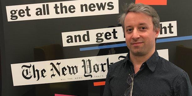 Au « New York Times », le combat d'un Frenchie à l'ère des fake news