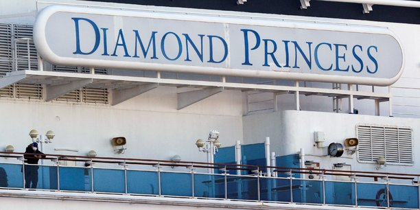 Le principal foyer d'infection hors de Chine reste le paquebot de croisière Diamond Princess, en quarantaine au Japon.