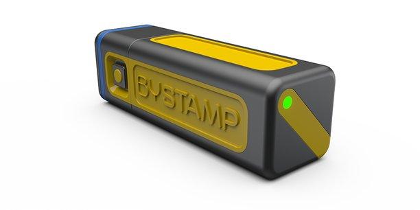 À Vannes, Bystamp commercialise un tampon encreur numérique
