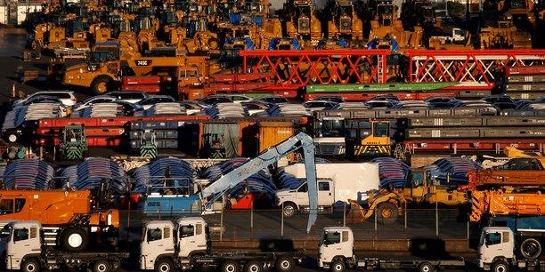 Japon: declin des exportations et commandes d'equipements industriels[reuters.com]