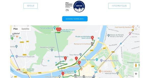 Les trois isérois souhaitent proposer une sorte de Google Maps des parcours urbains, 100% accessible et adaptée aux personnes à mobilité réduite.