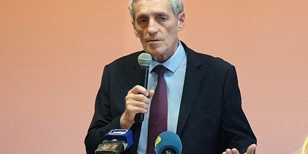 Le maire sortant de Montpellier, Philippe Saurel, termine le 1e tour en tête, avec 19,11 % des suffrages.