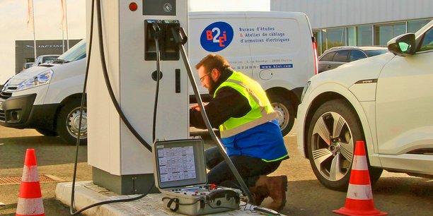 En s'attaquant au marché de la borne de rechargement pour véhicules électriques, B2EI vise une croissance de son chiffre d'affaires de près de 5 % par an.