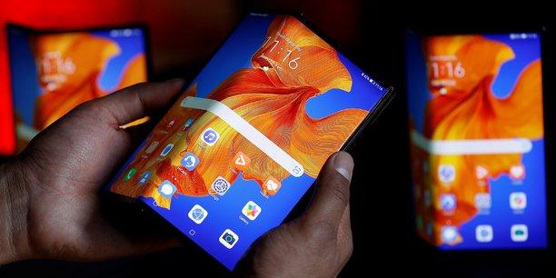 Lors de la présentation, Huawei a braqué les projecteurs sur son AppGalery, laquelle remplace le Google Play Store, qu'il n'a plus le droit d'utiliser avec ses smartphones.